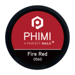 PHIMI color gel fire red cover