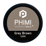 PHIMI color gel grey brown cover