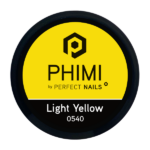 PHIMI color gel light yellow cover