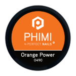 PHIMI color gel orange power cover