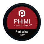 PHIMI color gel red wine cover