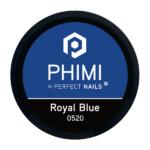 PHIMI color gel royal blue cover